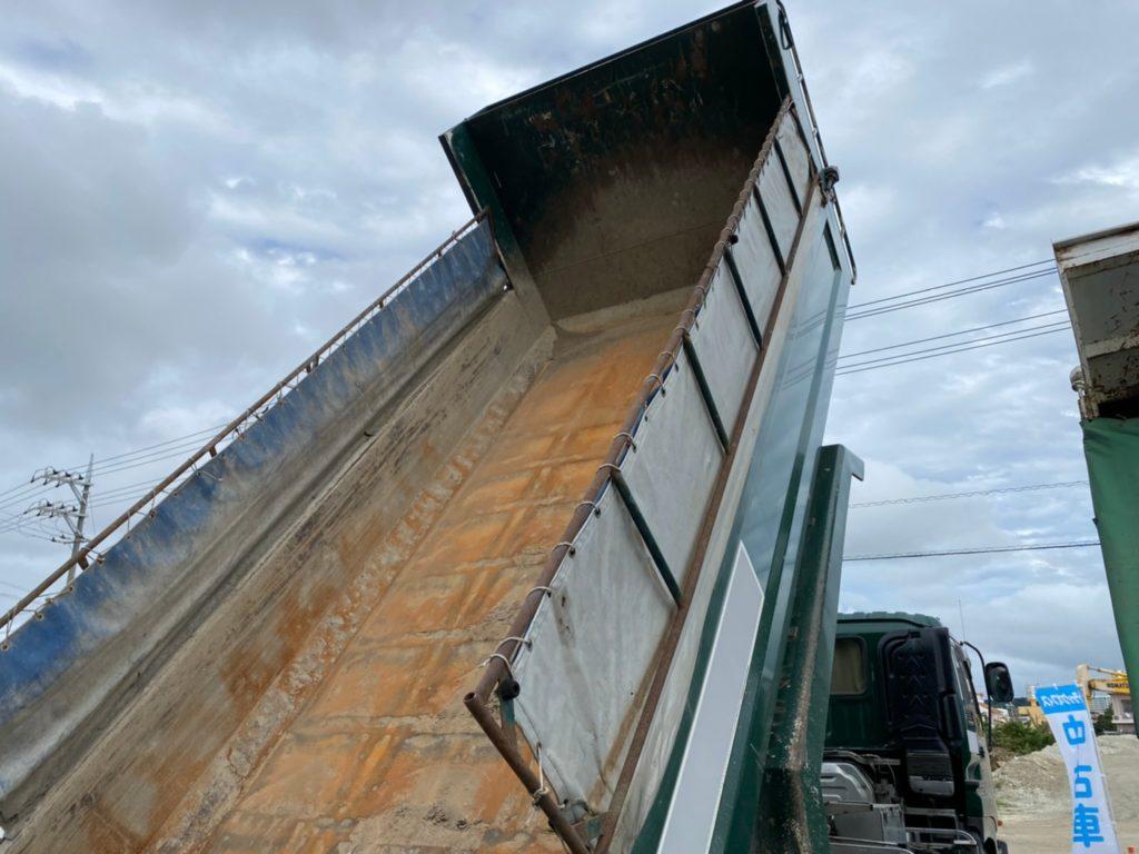 10トンダンプいすゞ ギガの画像4