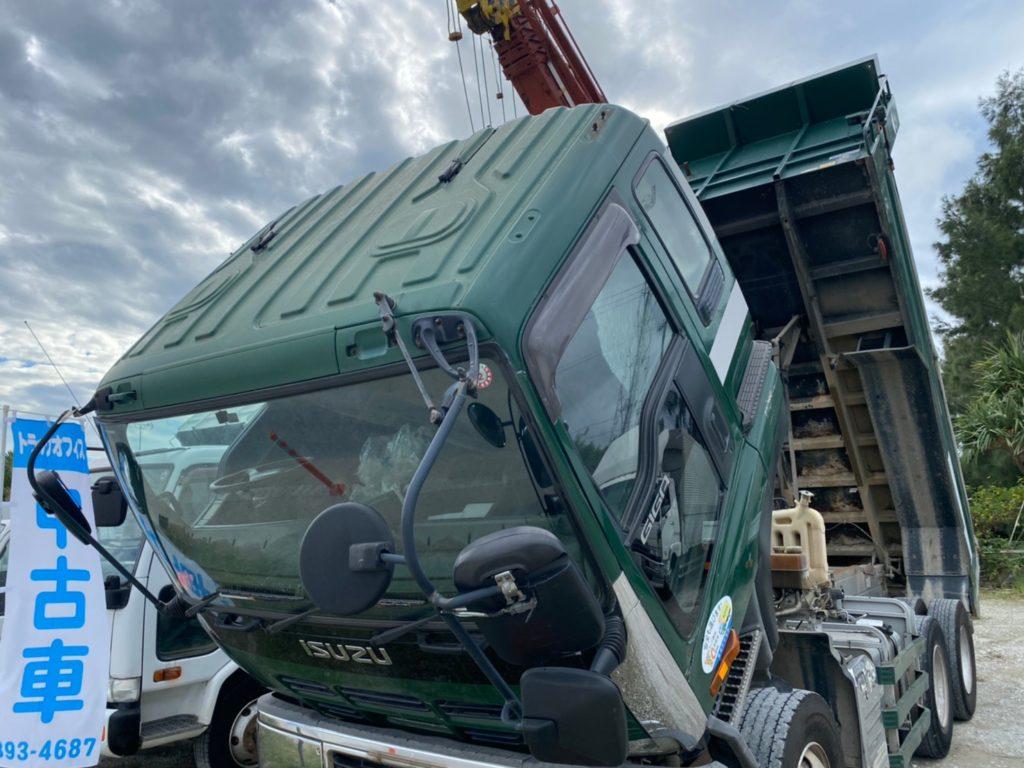 10トンダンプいすゞ ギガの画像7